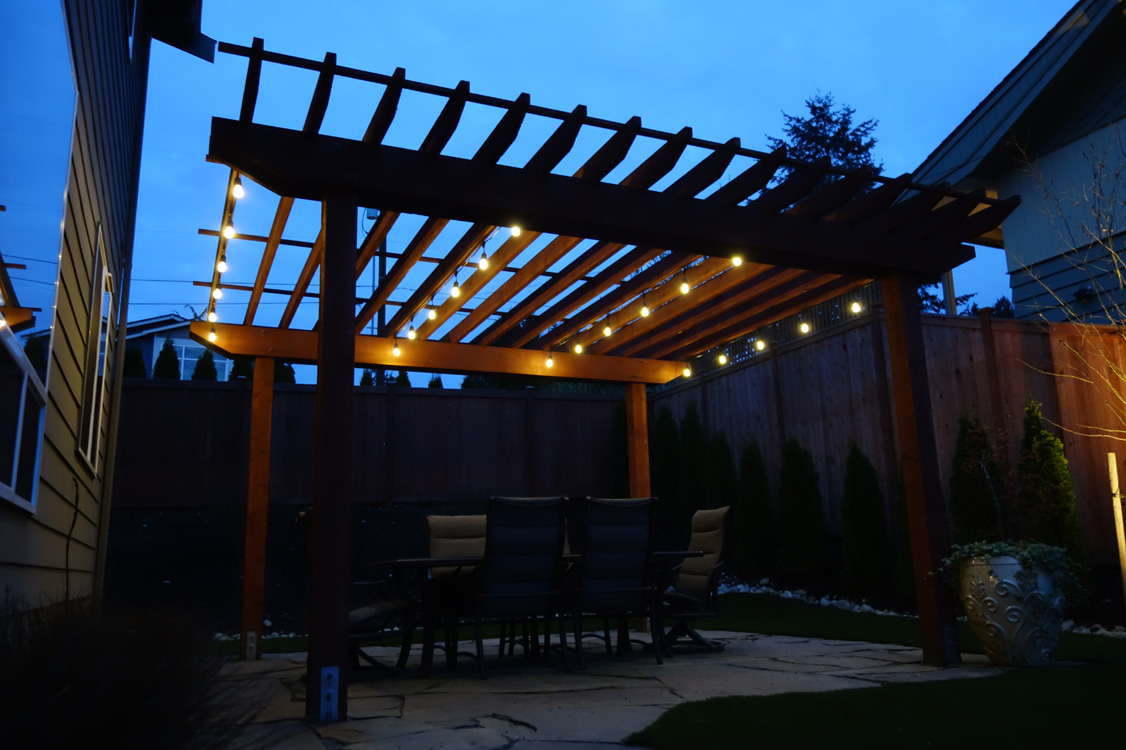 Why Should I Have Cafe Lights Professionally Installed