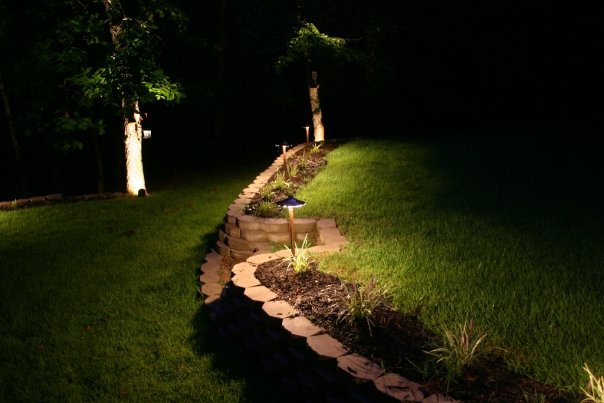 Flower Bed Lighting