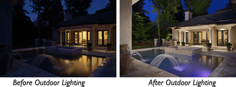 memphis pool lighting before and after