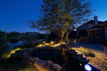 backyard pathway lighting