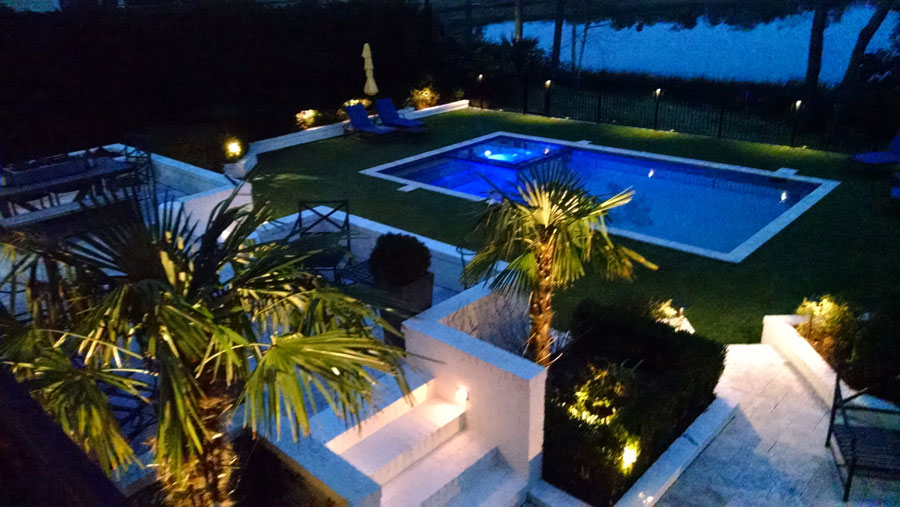 Jacksonville perimeter outdoor lighting for security