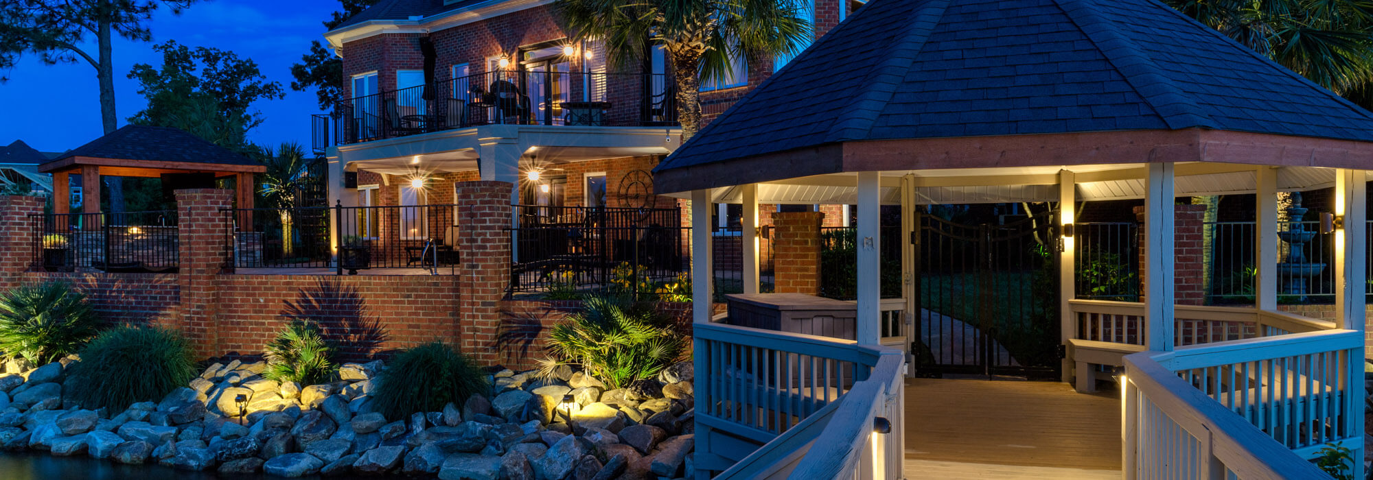 Deck and Gazebo lighting