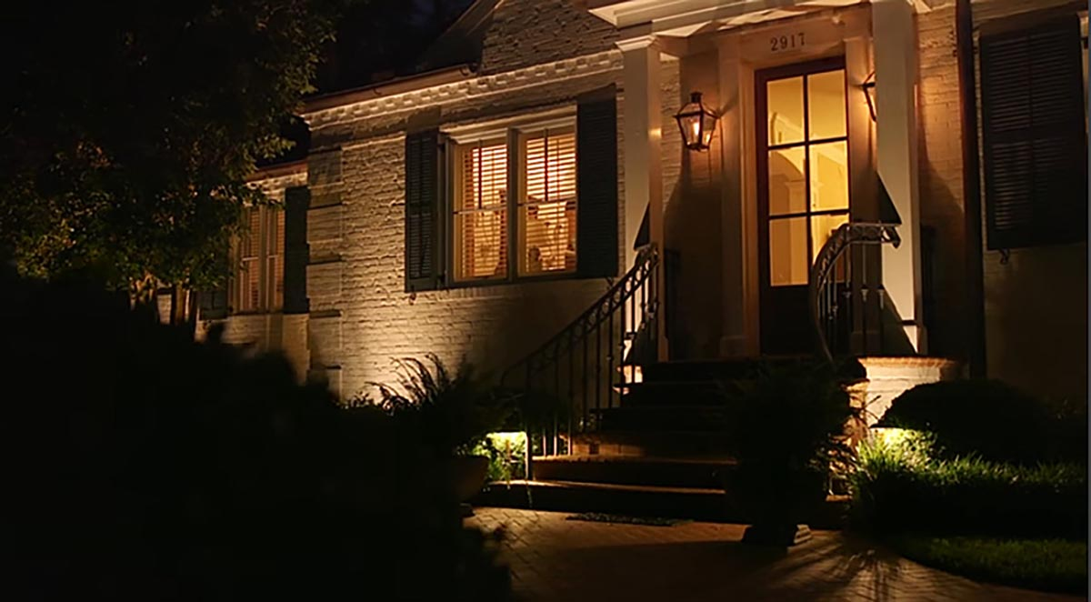 outdoor lighting - front porch