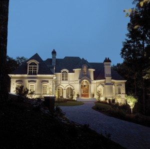 Professional outdoor lighting installation makes a dramatic statement on all of your outdoor spaces.