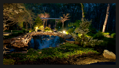 Kansas City Landscape Lighting Design