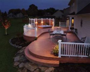 Deck and Outdoor lighting for your home in Leawood, KS