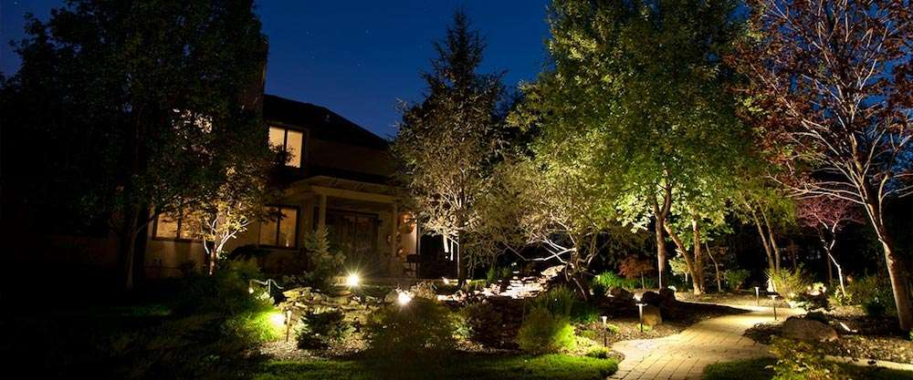 Leawood Landscape Lighting