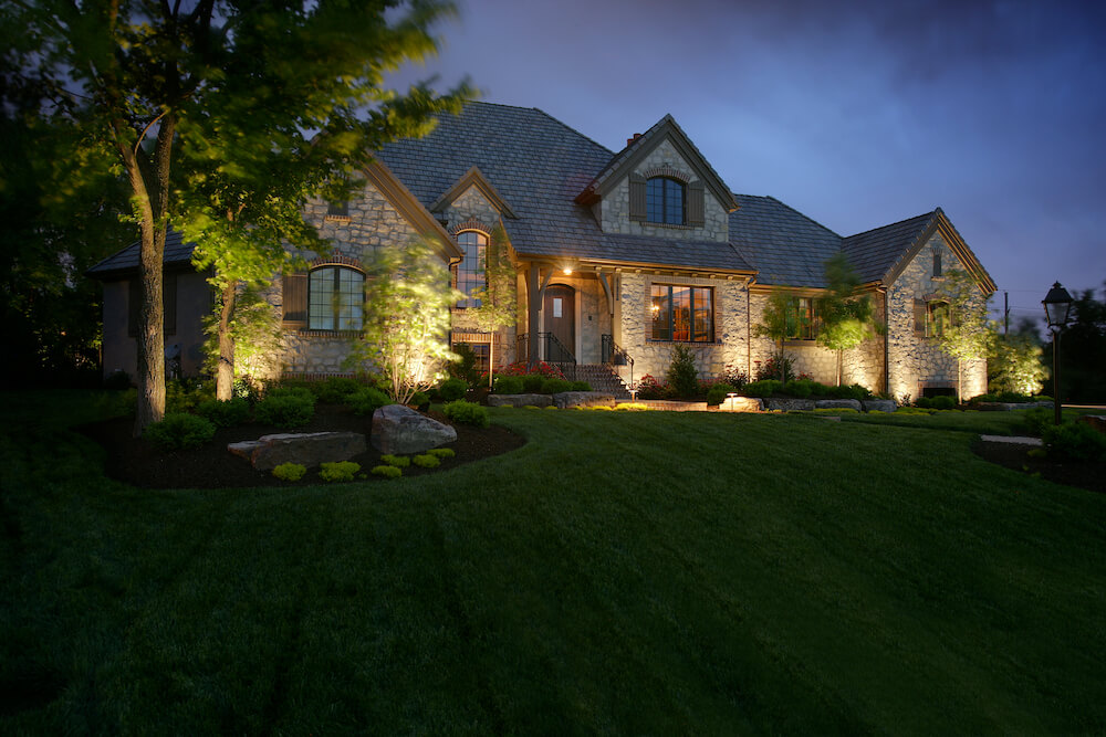 Modern Exterior Lighting System
