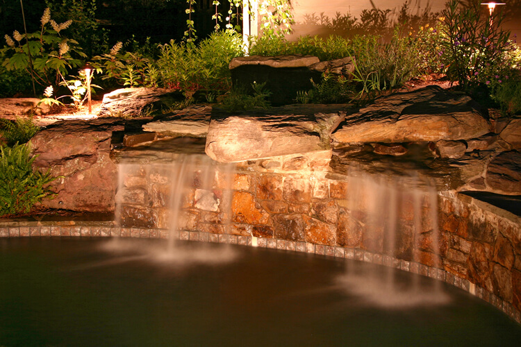 Waterfall Lighting