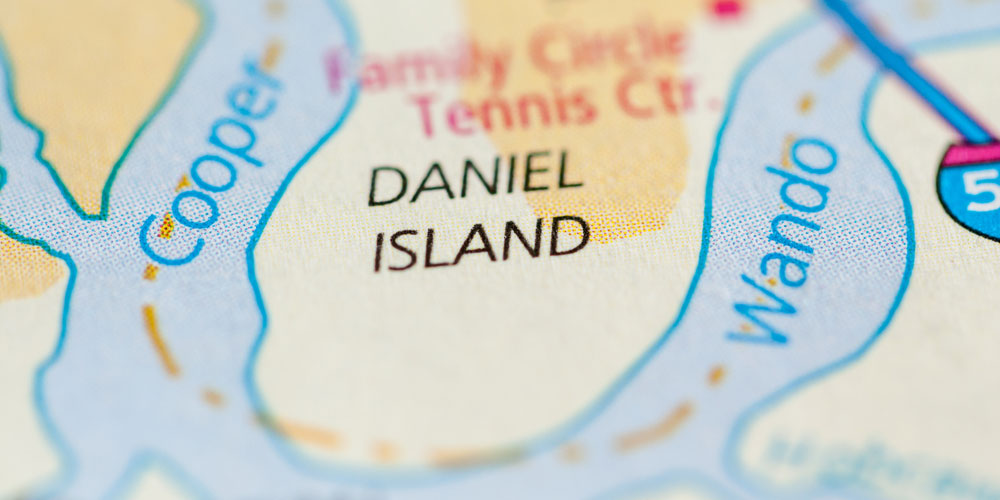 Daniel Island South Carolina Map